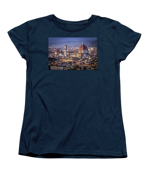 Firenze E Il Duomo Women's T-Shirt (Standard Cut)