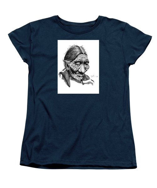 First 100 Years Women's T-Shirt (Standard Cut) by Lawrence Tripoli