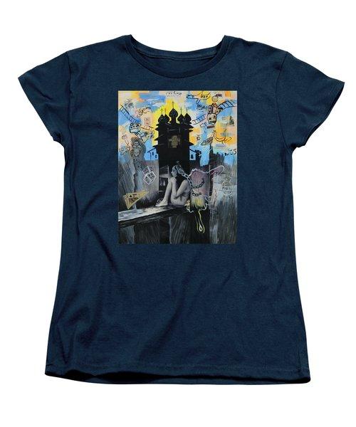 First Butterfly Women's T-Shirt (Standard Cut) by Yelena Tylkina