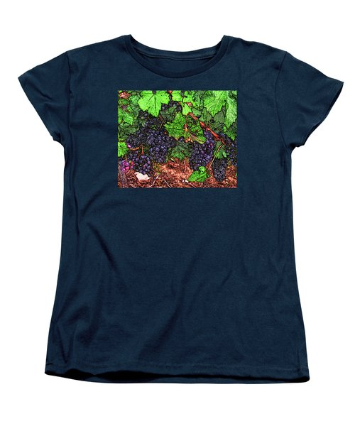 First Came The Grape Women's T-Shirt (Standard Cut)