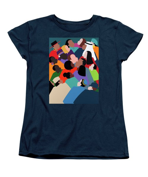 First Family The Obamas Women's T-Shirt (Standard Fit)