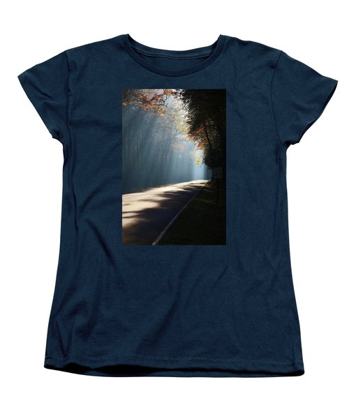 First Light Women's T-Shirt (Standard Cut) by Lamarre Labadie