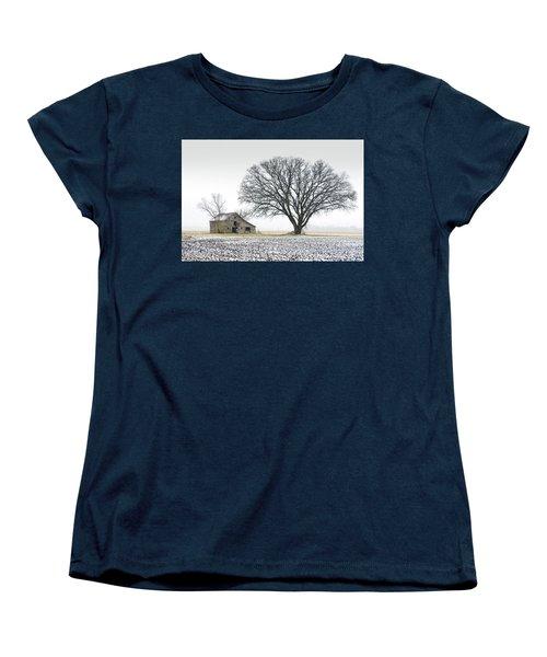 Winter's Approach Women's T-Shirt (Standard Cut) by Christopher McKenzie