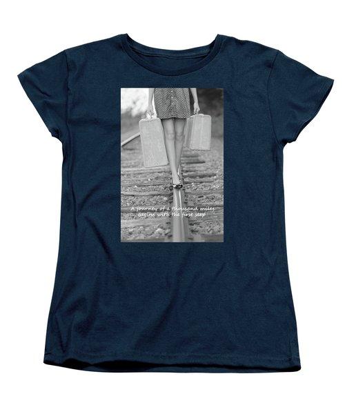 First Step Women's T-Shirt (Standard Cut)