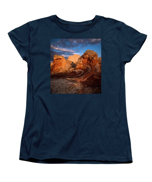 First Touch Women's T-Shirt (Standard Cut) by Bjorn Burton