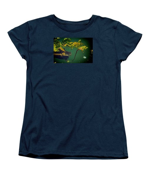 Fish Eye View Women's T-Shirt (Standard Cut) by Dale Stillman
