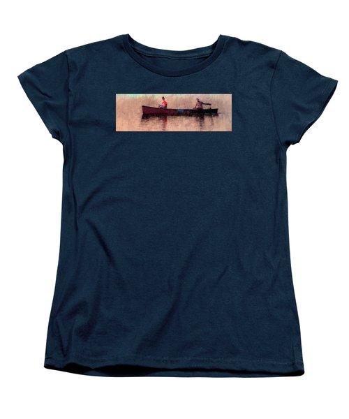 Fisherman Women's T-Shirt (Standard Cut) by Alex Galkin