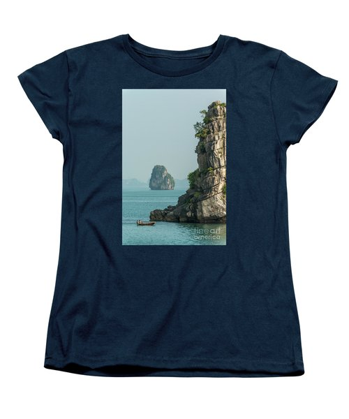 Fishing Boat 2 Women's T-Shirt (Standard Cut) by Werner Padarin
