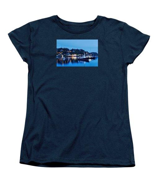 Fishing Boats Of Orban Women's T-Shirt (Standard Cut) by Robert Charity
