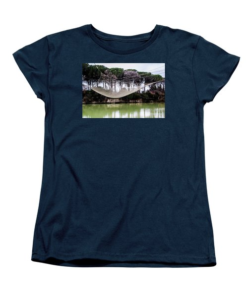 Fishing Net Women's T-Shirt (Standard Cut) by Ana Mireles