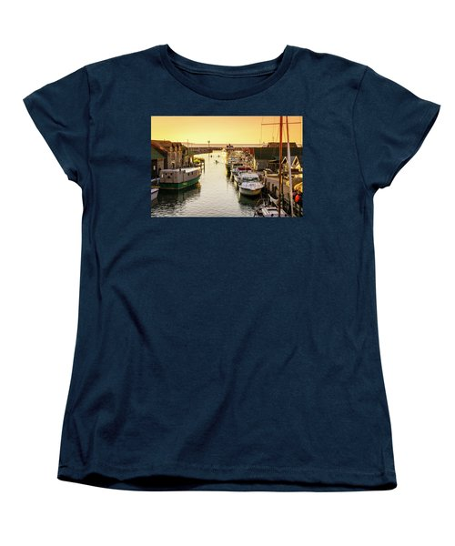 Women's T-Shirt (Standard Cut) featuring the photograph Fishtown by Alexey Stiop