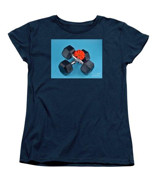 Fitness By Daisy Women's T-Shirt (Standard Cut) by Ray Shrewsberry