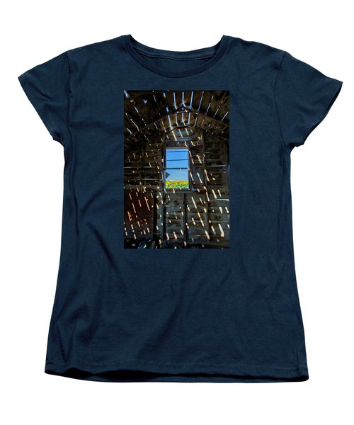 Women's T-Shirt (Standard Cut) featuring the photograph Fixer Upper With A View by Kristal Kraft
