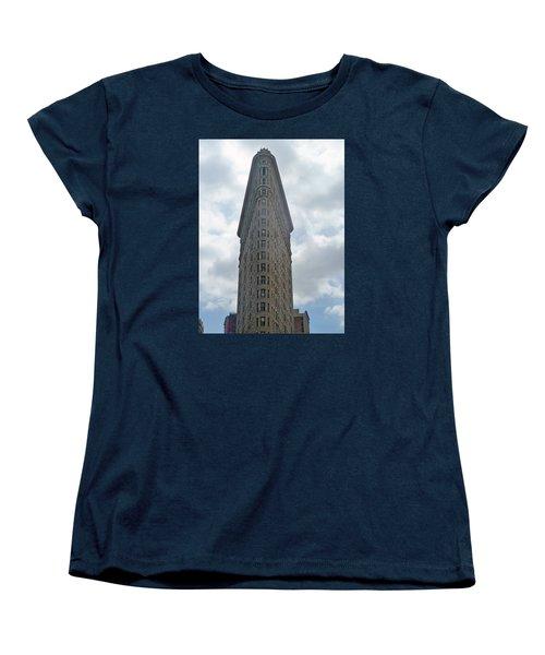 Women's T-Shirt (Standard Cut) featuring the photograph Flatiron Building by Helen Haw