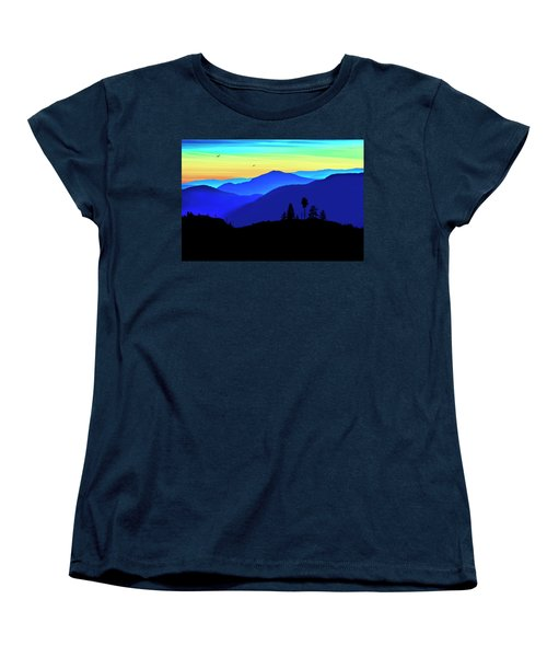 Women's T-Shirt (Standard Cut) featuring the photograph Flight Of Fancy by John Poon