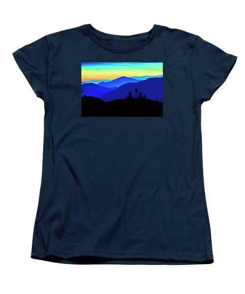Flight Of Fancy Women's T-Shirt (Standard Cut) by John Poon