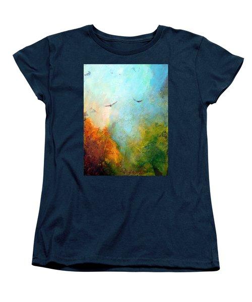 Flights Of Fancy Women's T-Shirt (Standard Cut) by Dina Dargo
