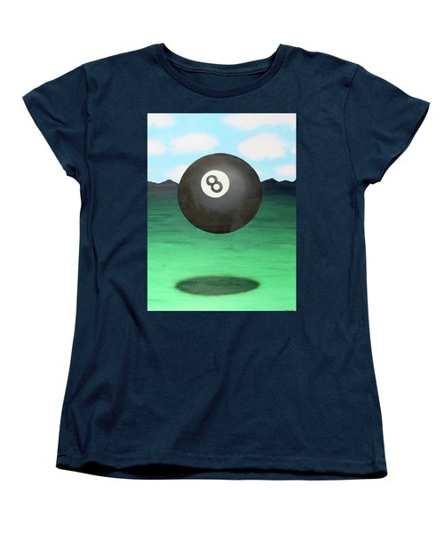 Floating 8 Women's T-Shirt (Standard Cut) by Thomas Blood