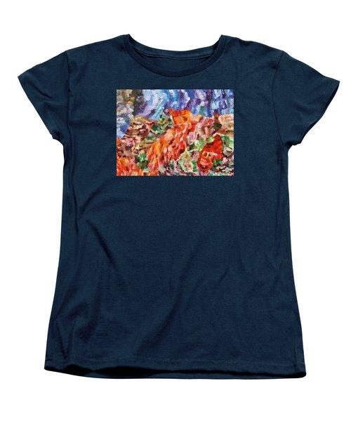 Flock Women's T-Shirt (Standard Cut) by Ralph White