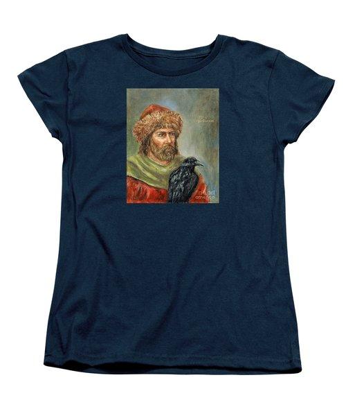 Floki Vilgerdarson Women's T-Shirt (Standard Cut) by Arturas Slapsys