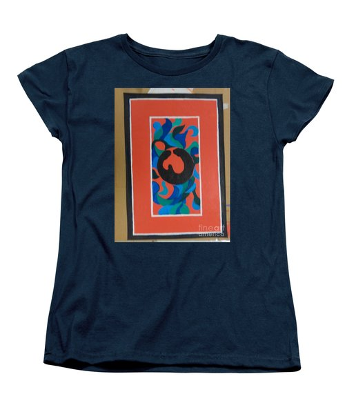 Floor Cloth E Women's T-Shirt (Standard Cut) by Judith Espinoza