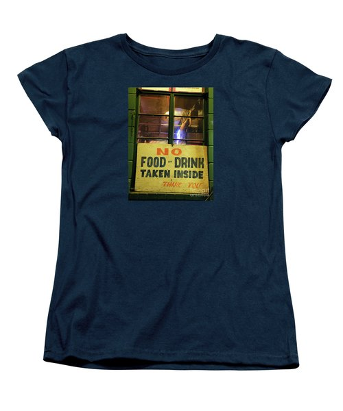 Women's T-Shirt (Standard Cut) featuring the photograph Floores Country Store And Dance Hall by Joe Jake Pratt