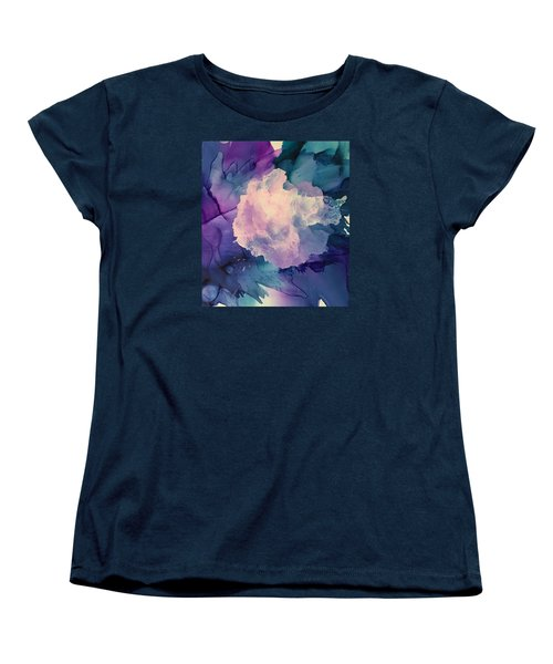 Floral Abstract Women's T-Shirt (Standard Cut) by Suzanne Canner