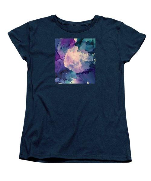 Floral Abstract Women's T-Shirt (Standard Cut)