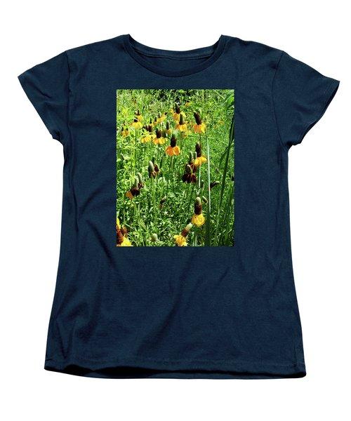 Floral Women's T-Shirt (Standard Cut) by Cynthia Powell