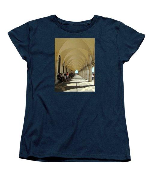 Florence Columns Women's T-Shirt (Standard Cut) by Lisa Boyd