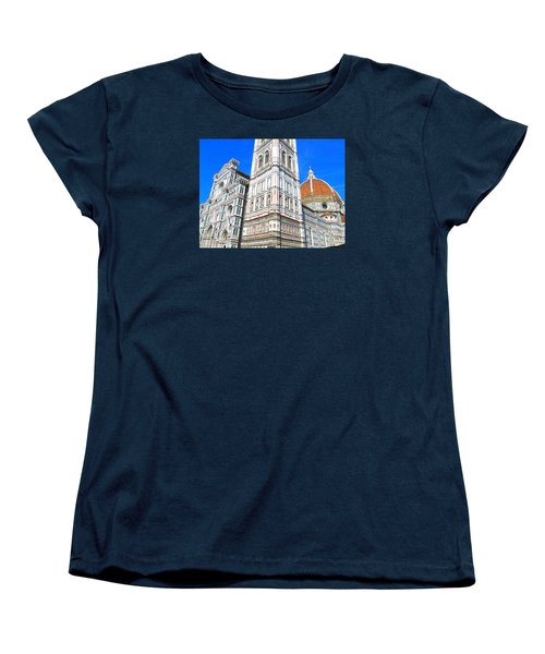 Florence Duomo Cathedral Women's T-Shirt (Standard Cut) by Lisa Boyd
