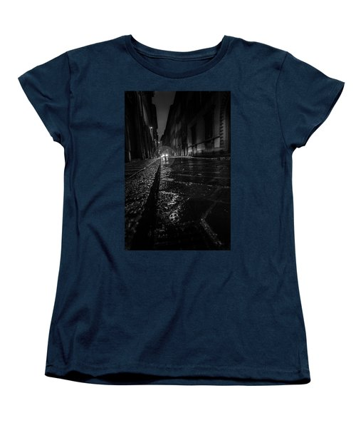 Women's T-Shirt (Standard Cut) featuring the photograph Florence Nights by Sonny Marcyan
