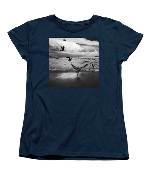 Flow Women's T-Shirt (Standard Cut) by Ryan Weddle