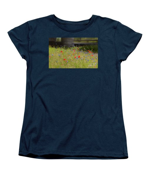 Flower Duet Women's T-Shirt (Standard Cut)