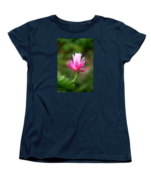 Women's T-Shirt (Standard Cut) featuring the photograph Flower Edition by Bernd Hau