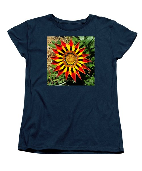 Flower -  Made In Nature Women's T-Shirt (Standard Cut) by Jasna Gopic