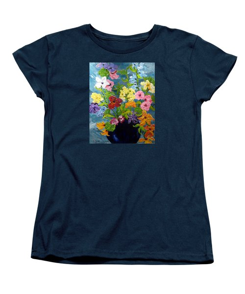 Flower Power Women's T-Shirt (Standard Cut)