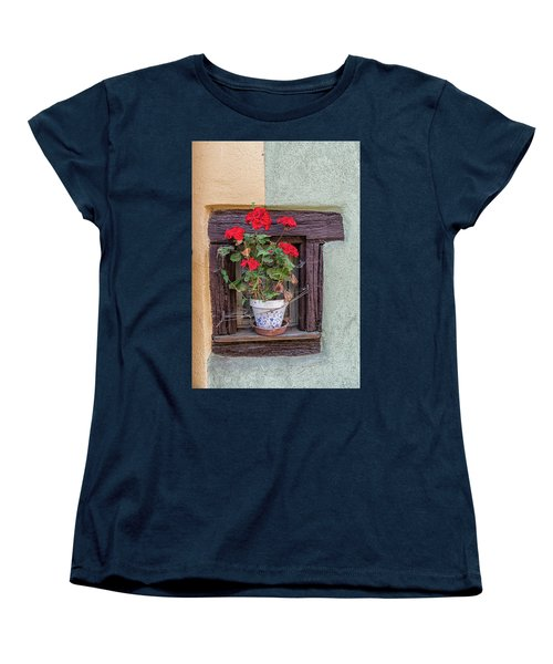 Flower Still Life Women's T-Shirt (Standard Cut) by Alan Toepfer