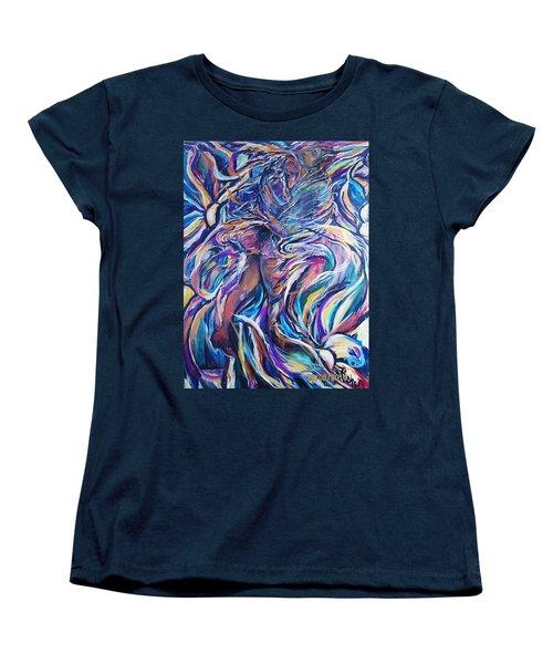 Flowering Women's T-Shirt (Standard Cut) by Dawn Fisher