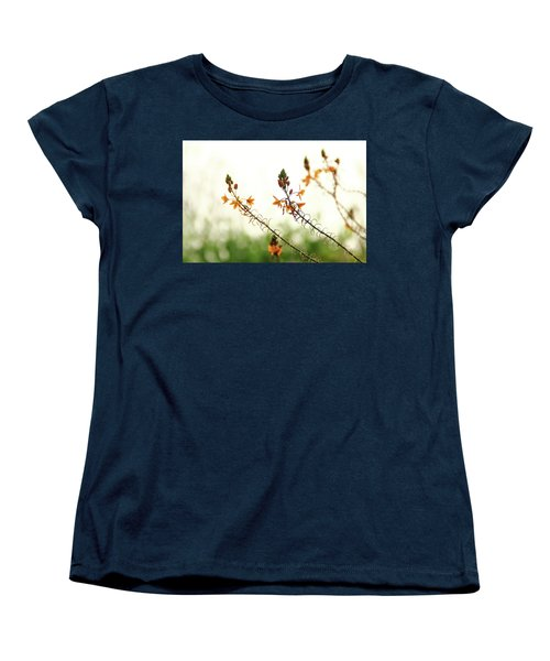 Flowering In Israel At The Sunset Women's T-Shirt (Standard Cut) by Yoel Koskas