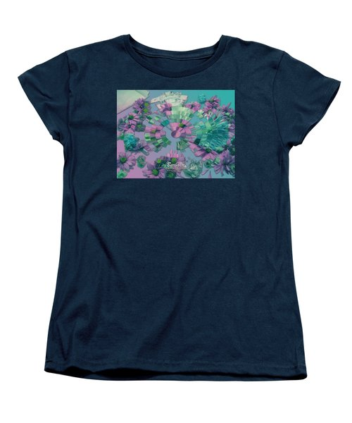 Women's T-Shirt (Standard Cut) featuring the photograph Flowers And Paper by Barbara Tristan