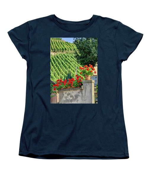 Flowers And Vines Women's T-Shirt (Standard Cut) by Alan Toepfer