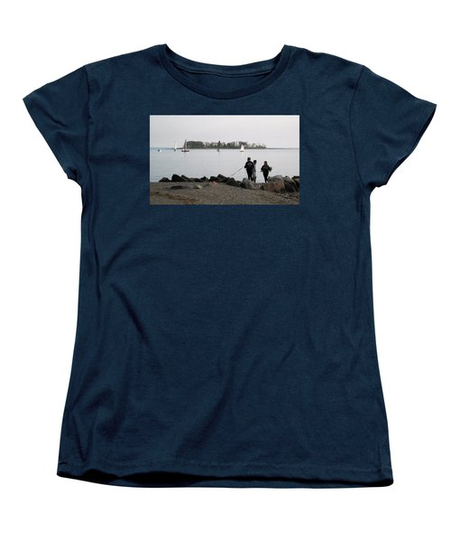 Flowers For The Lady Women's T-Shirt (Standard Cut) by John Scates