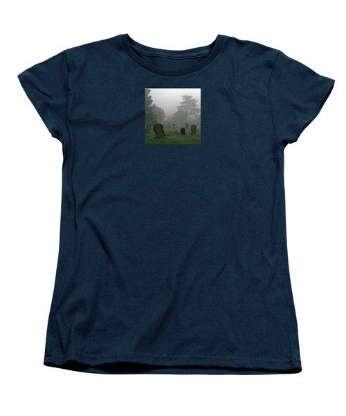 Flowers In The Mist Women's T-Shirt (Standard Cut) by Anne Kotan