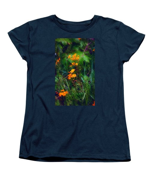 Flowers In The Woods At The Haciendia Women's T-Shirt (Standard Cut)