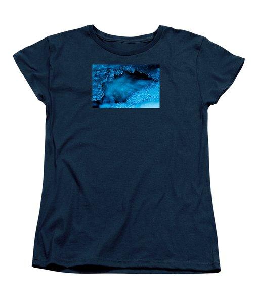 Flowing Diamonds Women's T-Shirt (Standard Cut) by Sean Sarsfield