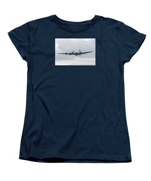 Flying Fortress Sally B Women's T-Shirt (Standard Cut) by Gary Eason