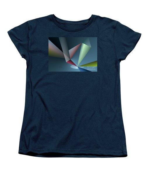 Focus Women's T-Shirt (Standard Cut) by Leo Symon