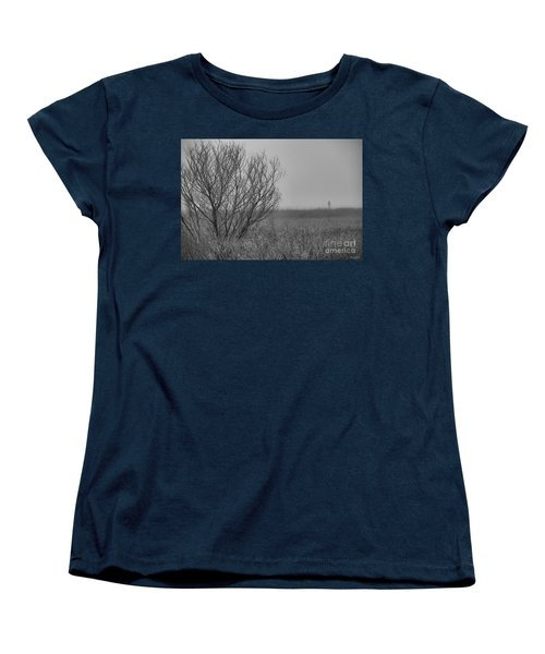 Women's T-Shirt (Standard Cut) featuring the photograph The Fog Of History by Phil Mancuso