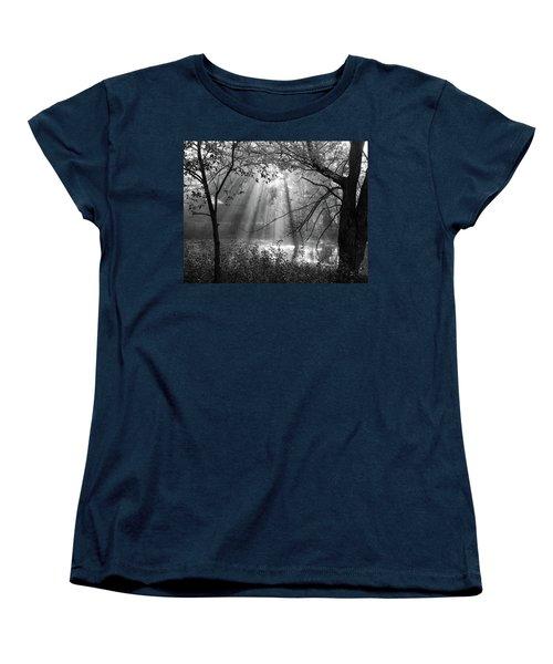 Fog Rays Women's T-Shirt (Standard Cut) by Betsy Zimmerli